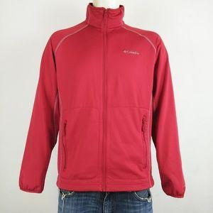 Columbia Omni Wick red men's zip up sweater